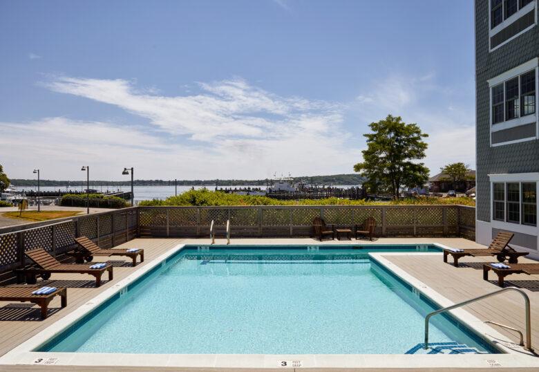 Harborfront Inn pool