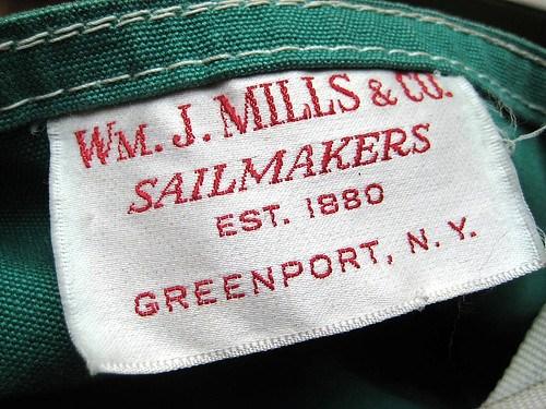 WM. J. Mills & Co. clothes tag