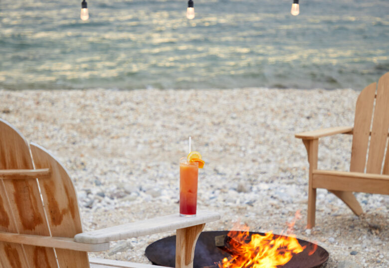 Sound View Beach Cocktail Fire Pit